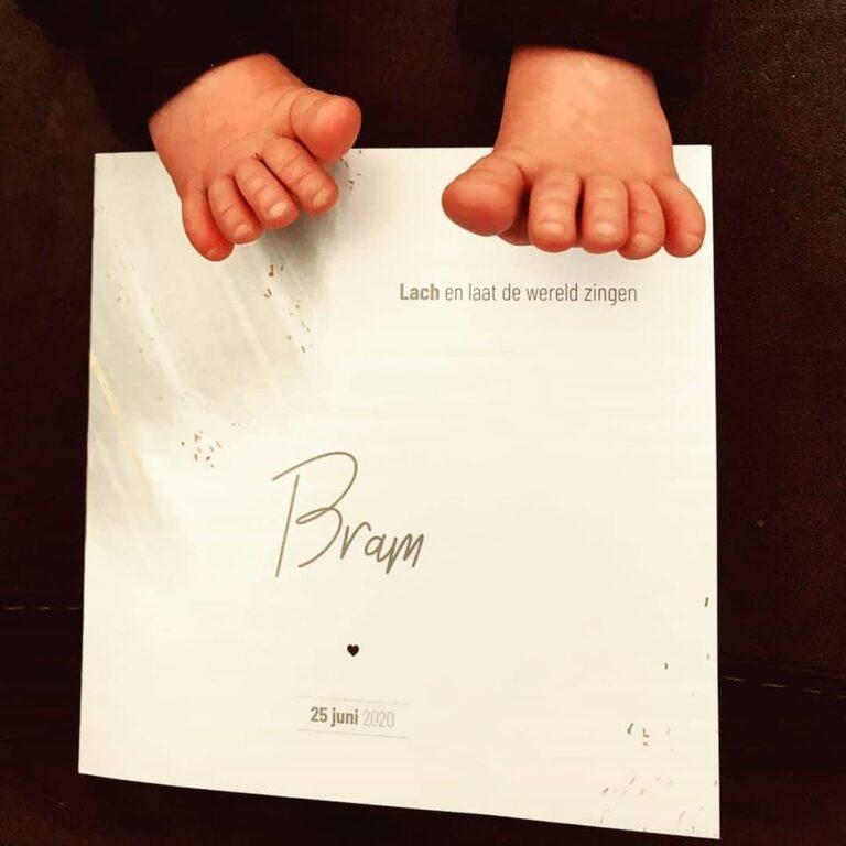 Geboortekaartje Bram. - MERQ